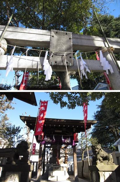 13.01.04.尾久八幡神社(荒川区西尾久)厳島神社
