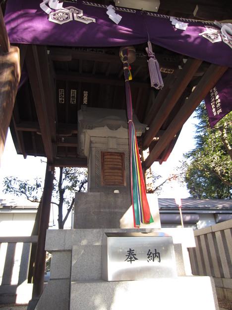 尾久八幡神社(荒川区西尾久)厳島神社