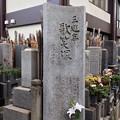 Photos: 浄閑寺(南千住2丁目)三遊亭歌笑塚