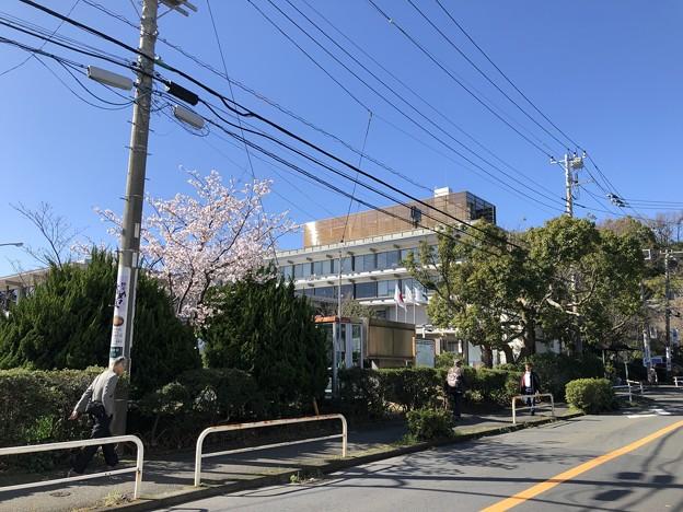諏訪盛重屋敷跡(鎌倉市役所)