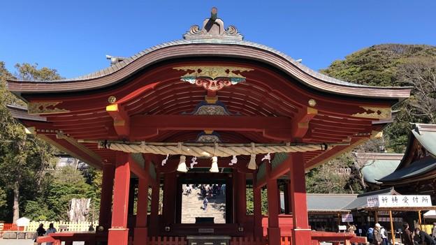 鶴岡八幡宮(鎌倉市)舞殿(外拝殿)