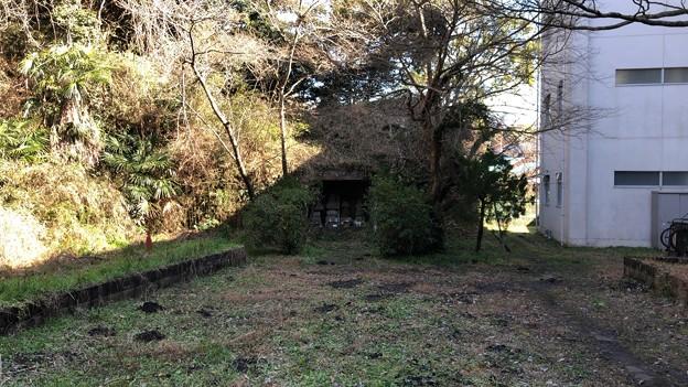 梶原一族墓(鎌倉市立深沢小学校内)
