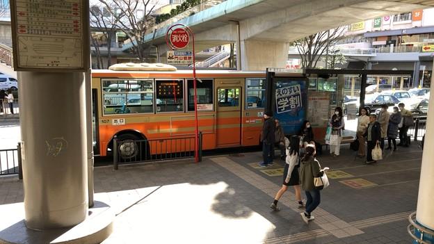 藤沢駅南口バスロータリー(藤沢市)