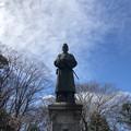 Photos: 高尾天神社 菅原道真像/初沢城(八王子市)北郭1