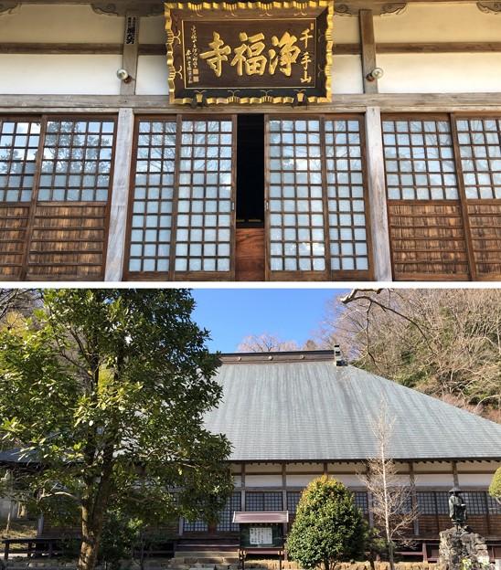 浄福寺本堂/大石家 居館跡or士屋敷跡(説)(八王子市)