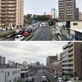 Photos: 20.03.30.北品川駅前歩道橋(品川区)より南北