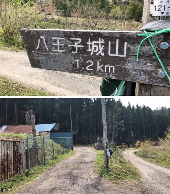 Photos: 八王子城 搦手虎口(八王子市)