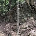 Photos: 八王子城 大堀切(八王子市)縄張西端