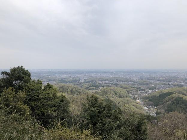 Photos: 八王子城 小宮郭帯郭?(八王子市)景観ポイント