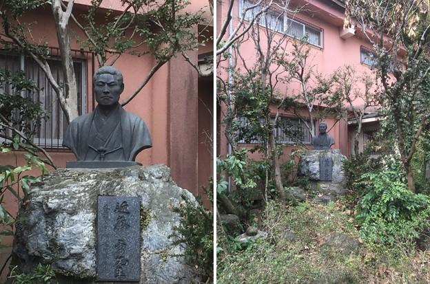 小島資料館(町田市)近藤勇胸像