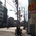 Photos: 12.02.21.土手通り 吉原大門交差点(台東区)吉原遊廓跡 見返り柳
