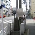 Photos: 11.03.14.土手通り 吉原大門交差点(台東区)吉原遊廓跡 見返り柳