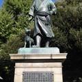 西郷隆盛像(台東区。都営上野恩賜公園)