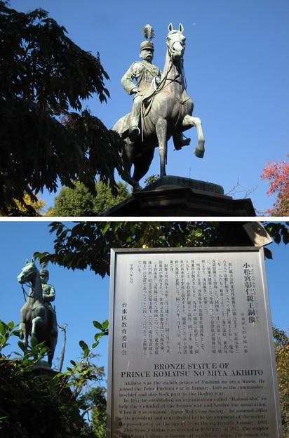 10.11.11.小松宮彰仁親王像(台東区。都営上野恩賜公園)