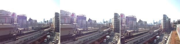 15.01.05.上野恩賜公園(台東区)よりJR上野駅~線路