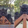 Photos: 14.03.12.寛永寺(台東区)鬼瓦