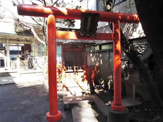 銀杏岡八幡神社(台東区浅草橋)此葉稲荷神社