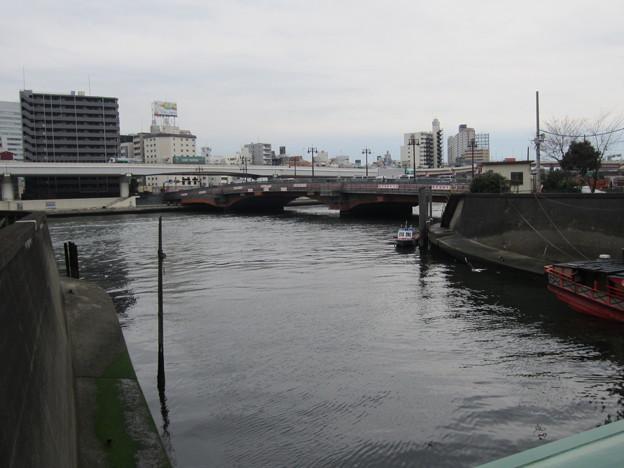 柳橋(台東区柳橋)神田川・隅田川