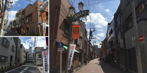 15.05.04.藤堂和泉守屋敷跡 凸西(台東区台東)