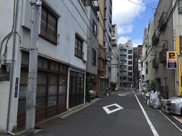 三味線堀 堀留跡(台東区小島)