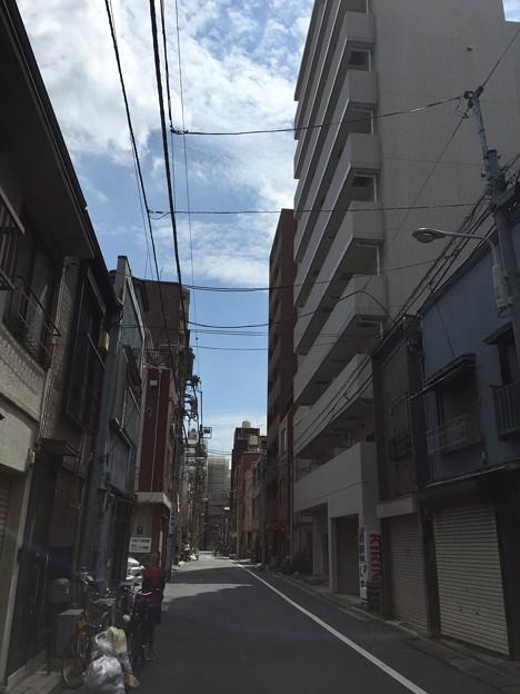 大久保佐渡守屋敷跡(台東区小島)