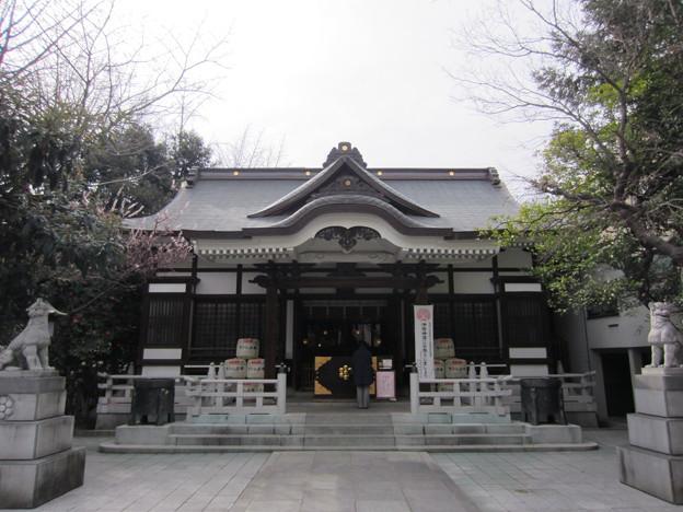 鳥越神社(台東区鳥越)拝殿