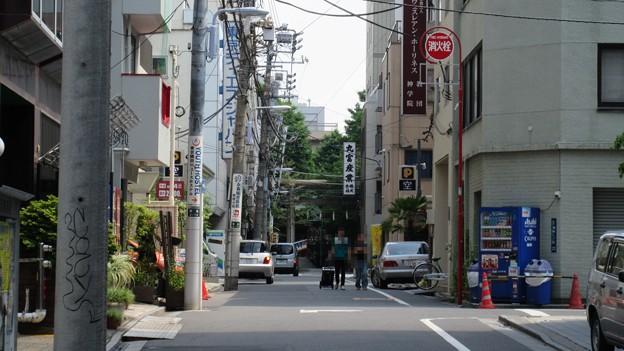 浅草御蔵跡(台東区柳橋)