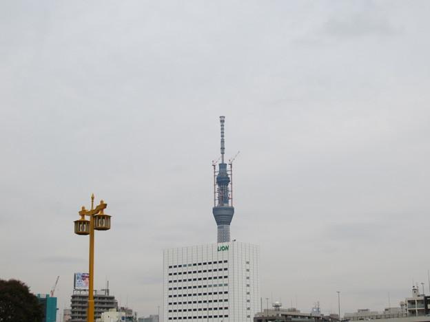 11.03.24.蔵前橋 西詰南側(台東区蔵前)より
