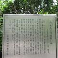 Photos: 15.05.31.西福寺(台東区蔵前)育英小学校発祥地碑 ・勝川春章墓説明板