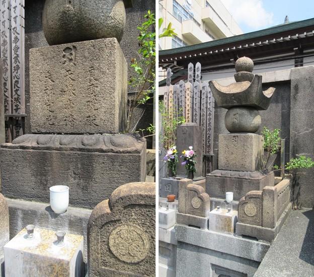 15.05.31.西福寺(台東区蔵前)於竹の方(振姫)墓