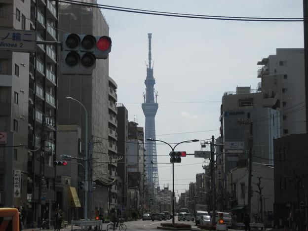 土手通り(台東区日本堤)