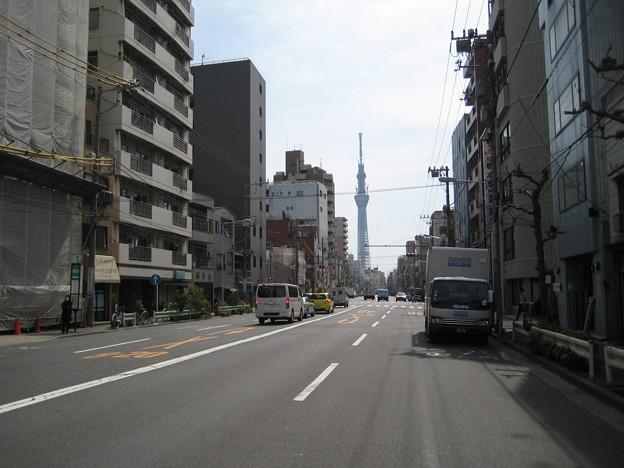 11.03.14.土手通り(台東区日本堤)