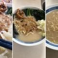 Photos: tabeteだし麺シリーズ「霧島黒豚 豚骨だし ラーメン」納豆ラーメン!