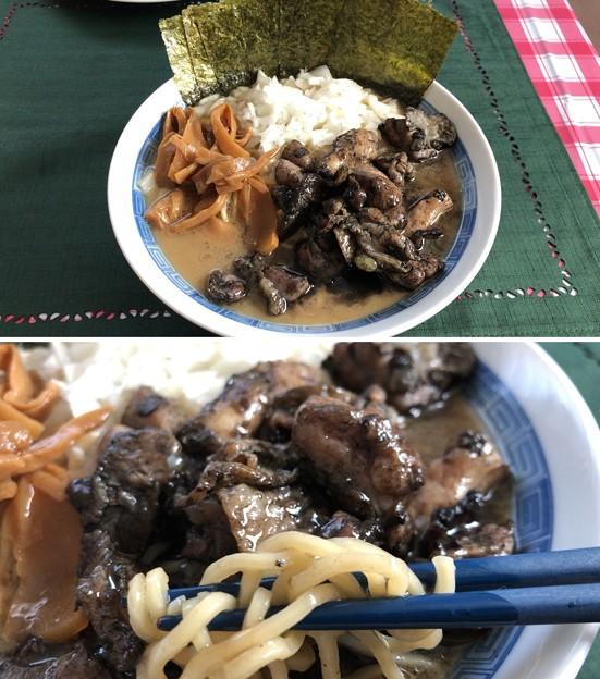 青森長尾中華そば + 宮崎地頭鶏