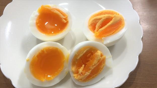 Photos: 香川烏骨鶏のたまご――3ゆでたまご