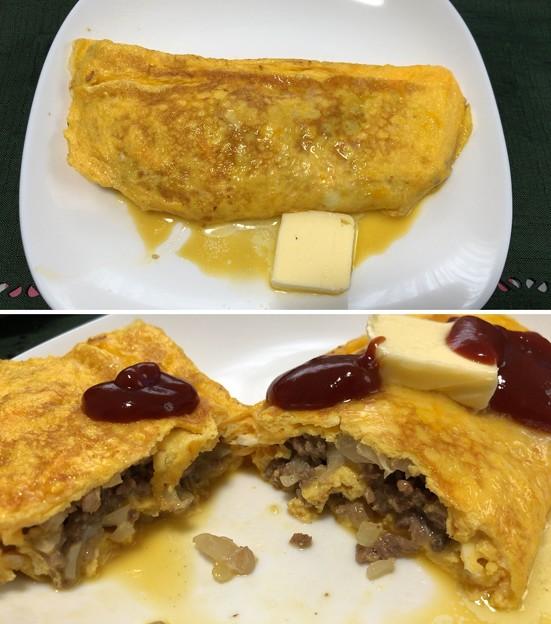 香川烏骨鶏のたまご――7ひきにくオムレツ