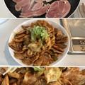 Photos: しゃもぉ~~~(´・Д・)」2 + 亀山みそ焼きうどん