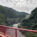 Photos: 黒部峡谷鉄道 山彦橋より(黒部市)