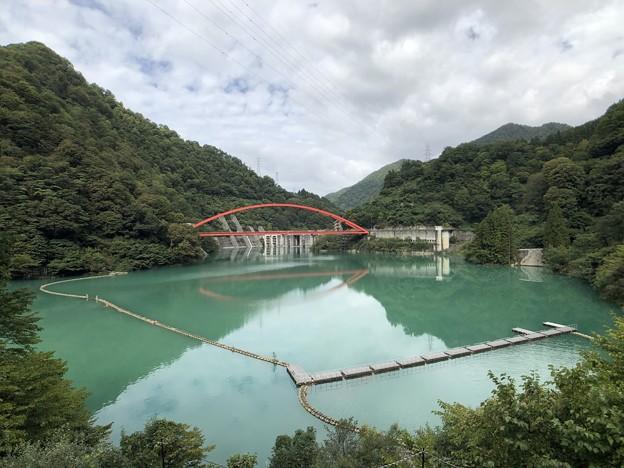 Photos: 黒部峡谷鉄道 宇奈月湖(黒部市)