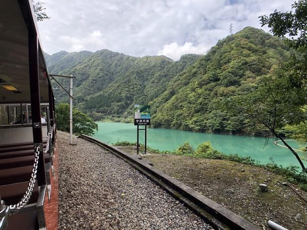 黒部峡谷鉄道 宇奈月湖(黒部市)