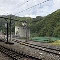 Photos: 黒部峡谷鉄道 新柳原発電所(黒部市)