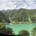 Photos: 黒部峡谷鉄道より(黒部市)