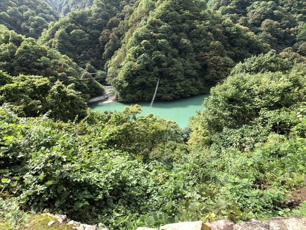Photos: 黒部峡谷鉄道 サル橋(黒部市)