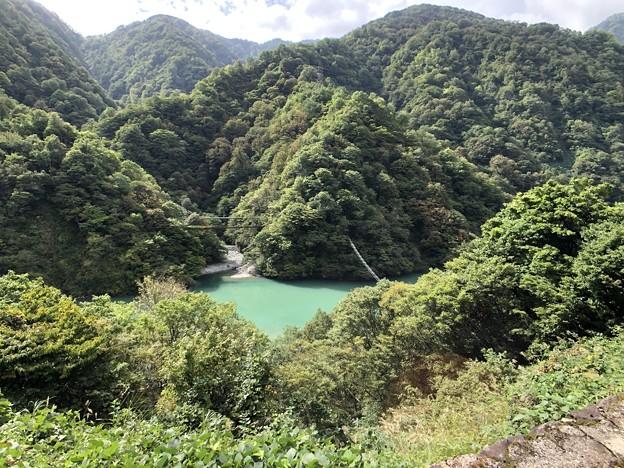 黒部峡谷鉄道 サル橋(黒部市)