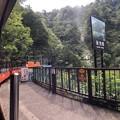Photos: 黒部峡谷鉄道 黒薙駅・後曳橋(黒部市)