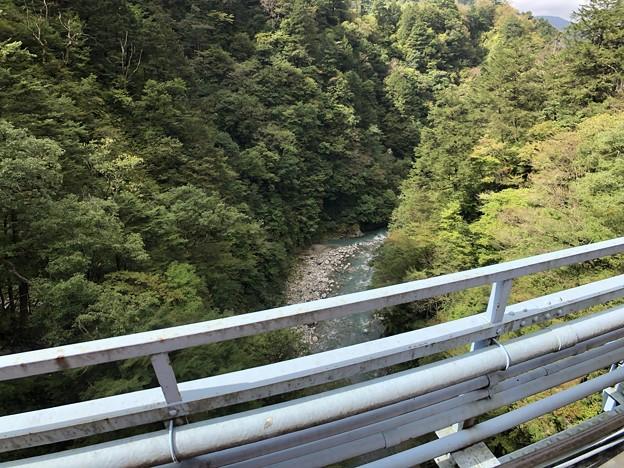 黒部峡谷鉄道 後曳橋(黒部市)