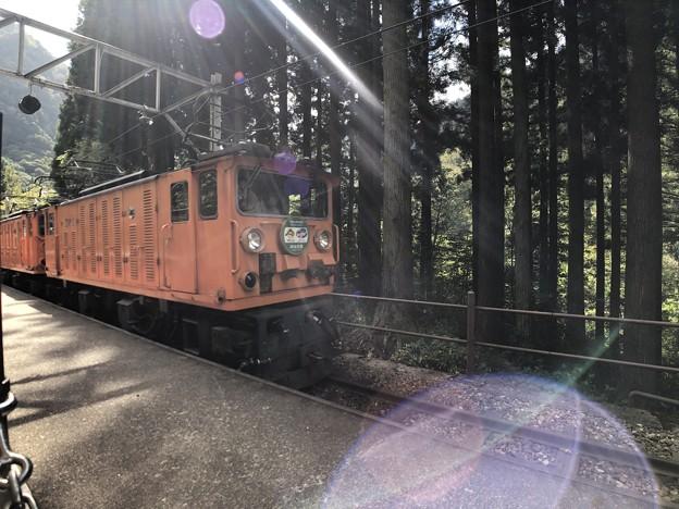 黒部峡谷鉄道 出平駅(黒部市)