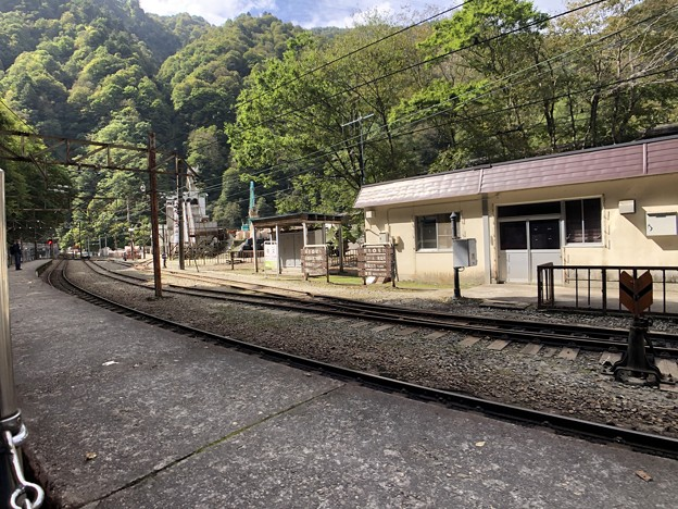 黒部峡谷鉄道 猫又駅(黒部市)