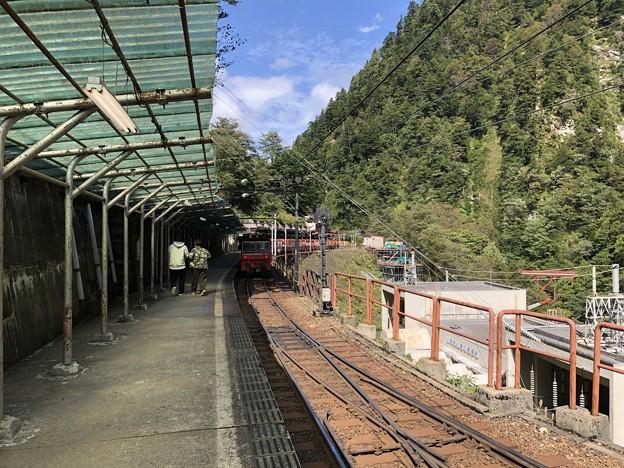 黒部峡谷鉄道 欅平駅(黒部市)