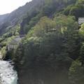 Photos: 黒部峡谷 奥鐘橋より(黒部市)